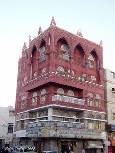 Sanaa, Yemen architecture - photo by Peter Twele http://petertwele.com/