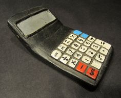 Africian Carved Calculator Toy