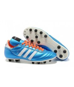competitive price 0ad98 f6718 Adidas Copa Mundial FG PEVNÝ POVRCH kopačky modrý bílá oranžový. Cheap  Football ShoesMens ...