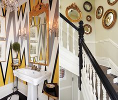 Graphic Meets Traditional Spaces