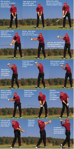 Swing sequence: Sergio Garcia Golf Tips - At What Point is it Wise to Get a Golf Caddy? Can Improving Golf Swing Mechanics Improve Your Golf Game? Golf Putting Tips - 3 Golf Putting Tips to Help You Instantly Improve Your Putts! Sergio Garcia Golf, Golf 6, Play Golf, Disc Golf, Mens Golf, Sport Golf, Golf Chipping, Chipping Tips, Dolphins