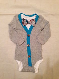 Phillip -Baby Boy Clothes – Newborn Outfit - Infant Bowtie Cardigan- Photo Prop- Baby Shower Gift- Preppy- Ring Bearer-Christol and Company