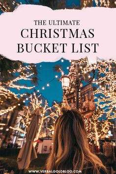 Want to make the most out of this Christmas? Here's your ultimate Christmas bucketlist for fun, cheap, and cheerful things to do to spread the spirit this December Christmas Medley, Christmas Tree Farm, A Christmas Story, Christmas Movies, Christmas Carol, Christmas Lights, Christmas Time, Christmas Playlist, Fun Days Out