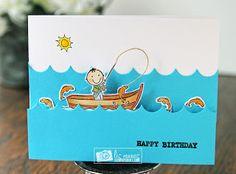 Liz's Paper Loft: MCT Manly Monday ~ happy birthday!