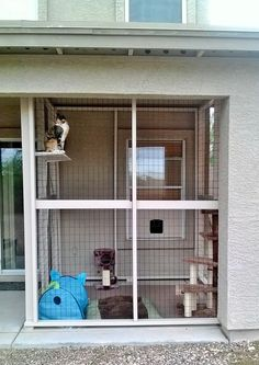 My finished Catio. Love it!