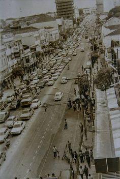 Avenida Eduardo Ribeiro. Década de 70. Manaus. Acervo: Moacir Andrade.