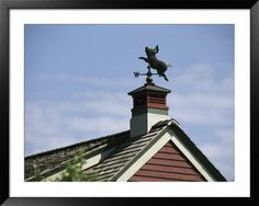 I want a weather vane on my garage (maybe not a pig, but a weather vane all the same!)
