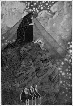 Sidney Sime - The Ultimate God (1906)