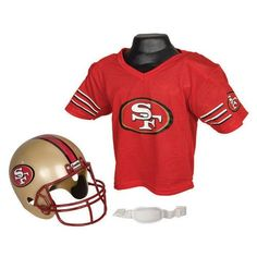 Franklin Sports NFL San Francisco 49ers Youth Helmet and Jersey Set >>> Click image for more details.Note:It is affiliate link to Amazon. #FootballPassion