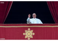 """Where God is born, hope is born. Where God is born, peace is born. And where peace is born, there is no longer room for hatred and for war."" #God #Hope #Peace  Pope delivers Christmas Urbi et Orbi message -  Vatican Radio"
