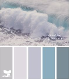 Design Seeds, for all who love color. Apple Yarns uses Design Seeds for color inspiration for knitting and crochet projects. Paint Schemes, Colour Schemes, Color Combos, Colour Palettes, Beach Color Schemes, Eames Design, Pantone, Foto Picture, Color Palate