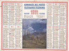 Almanach des postes télégraphes téléphones 1951