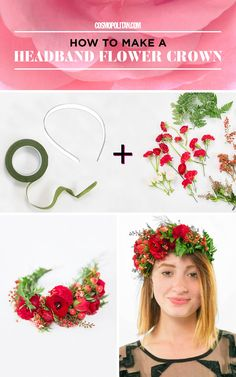 5 Gorgeous Flower Crowns That Are Really Easy to Make - Cosmopolitan.com