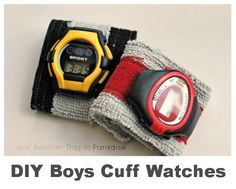 Boys' Cuff Watches by Just Another Day in Paradise