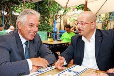 ...a Casablanca assieme ad Achille Andò, imprenditore e maestro di vita