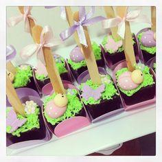 Pães de meu festa jardim das fadas  #paesdemel #paodemeldecorado #borboleta #joaninhas #festajardimencantado #festajardimdasfadas #chocolate