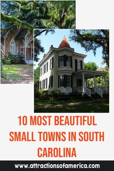 10 Charming Small Towns In South Carolina That You Must Visit | Coolest South Carolina towns | Best small towns in South Carolina to visit | Where to find the prettiest small towns in South Carolina #SC #USA #SmallTowns Edisto Island, Traveling Teacher, Travelers Rest, The Settlers, Hilton Head Island, Fishing Villages, Beach Town, Beautiful Buildings, Small Towns