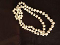 Collar de perlas fabulosa imitación