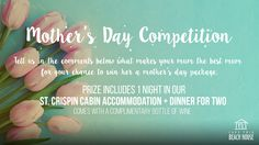 For the client's Mother's Day Competition, we created an ad that included the mechanics and the prize that their lucky customer will get. Marketing by www.fxwebstudio.com.au.