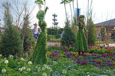 Springtime has arrived at Epcot in blooms of vibrant color. The entire park has blossomed into a beautiful garden of sights, sounds, and smells. The 2015 Flower and Garden Festival features exquisitely crafted topiaries of our favorite Disney characters, a variety of themed gardens and play areas, tantalizing farm to...