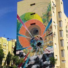 #ram @ram_lisbon #muralart #publicart #streetart #bairropadrecruz #portugal