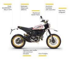 Ducati scrambler Desert Sled 800cc THE BEST ONE see this page.