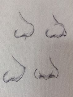 Cómo dibujar narices / how to draw noses