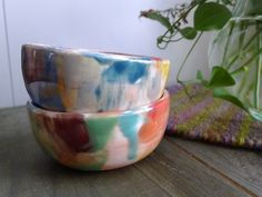 whilethecloudsspread: small bowls / jaime Rugh