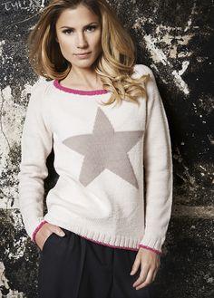 Lana Grossa PULLI MIT STERN Cool Wool Big - FILATI CLASSICI No. 6 - Modell 12 | FILATI.cc WebShop