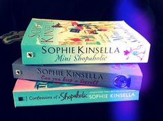 Sophie Kinsella books; very funny!