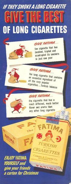 Fatima Cigarettes - 19491224 Post