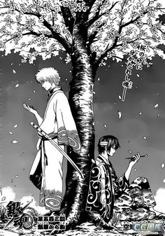 Gintoki and Takasugi