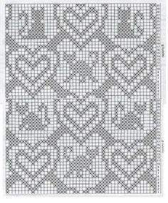 61 Ideas for crochet cat pattern fair isles Fair Isle Knitting Patterns, Knitting Charts, Knitting Stitches, Baby Knitting, Knitted Baby, Crochet Cat Pattern, Crochet Chart, Baby Patterns, Crochet Hearts