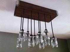 Hey, I found this really awesome Etsy listing at http://www.etsy.com/listing/116563937/custom-mason-jar-light-fixturechandelier