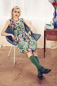 Emily & Fin SS13...thanks to Hudson and SunSan Sandals...Saltwater Originals for the best footwear and Collegien for the best knee socks. @Laura Hart photography.