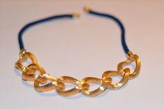 make it & fake it: DIY GoldChain Necklace