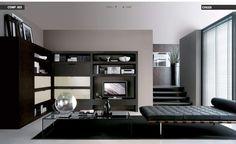 Unique Black Loungebed Living Room Decor