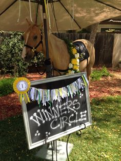 Photo booth! My Kentucky Derby Bridal Shower thrown by my Aunt Gloria!