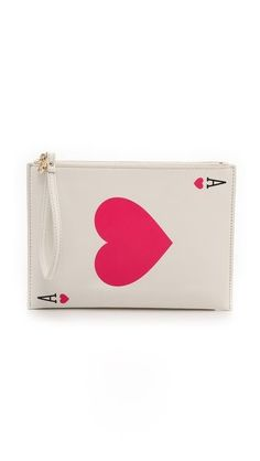 Kate Spade New York Place Your Bets Medium Bella Wristlet Pouch
