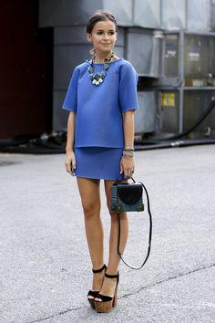 994f28e3ef565 Miroslava Duma - New York Fashion Week ss13 fot. Imax Trend Fashion,  Fashion Mode