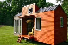 How can a small wooden house appear so charming such as this?