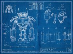 SuperBot - A magnifying mess