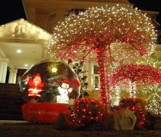 Christmas in Dyker Heights, Brooklyn.  Stunning!
