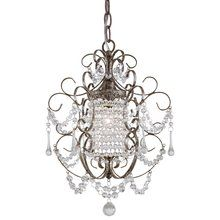 Minka Lavery Westport Silver Traditional Chandelier at Lowe's. When you need a fresh look for your decor, this Minka Lavery mini chandelier is an ideal solution. Graceful and elegant, this mini chandelier Crystal Chandelier Lighting, Mini Chandelier, Crystal Pendant, Clear Crystal, Pendant Lamp, Chandelier Ideas, Faceted Crystal, Ceiling Fixtures, Ceiling Lights