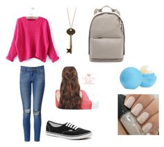 universidad #1 by ymerly15 on Polyvore featuring polyvore fashion style Paige Denim Vans 3.1 Phillip Lim Eos clothing
