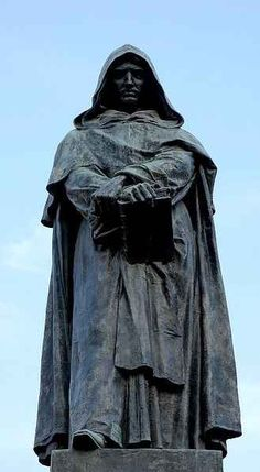 February 17, 1600: Giordano Bruno burned at the stake. Bruno, like Copernicus, believed that the Earth traveled around the sun, and took it even farther than that. He also thought that the stars were suns just like our own, that time and space were both infinite, and that comets were part of the whole system, not individual heavenly messengers from God. He also had some heretical beliefs about the Trinity, the Virginity of Mary, and the Mass, and was accused of dealing with magick and…