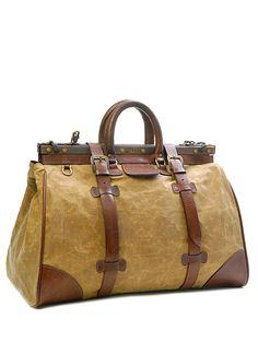 Clint Canvas Bag (Brown)