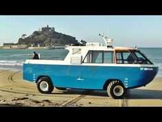 St Michael's Mount Cornwall Amphibious Vehicle - Car Craft Vehicles - YouTube