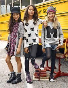 First day of school Tween girls fashion