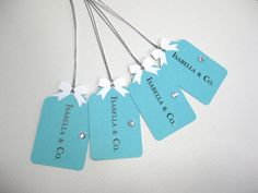 Set+of+10+Personalized++Breakfast+at+Tiffany's+Theme+by+Parischick,+$9.00